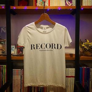 セプテンバレコード / Tシャツ
