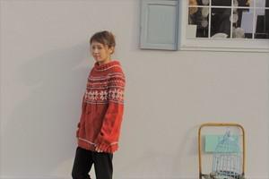 ヨーロッパ産 セーター オレンジ EURO sweater