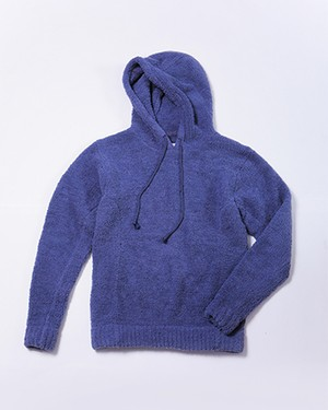 THE ULTIMATE COZY HOODED PO/NAVY HEATHER