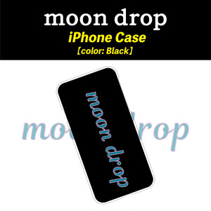 moon drop iPhone Case