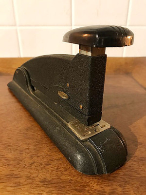 """""""SPEED PRODUCTS CO."""" Vintage Stapler-5"""