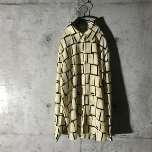 [used] yellow cells designed shirt