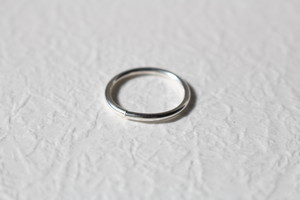 whole  simple ring【silver】