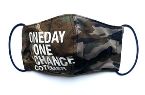 【COTEMER マスク 日本製】ONE DAY ONE CHANCE MILITARY MIX MASK o-mm01
