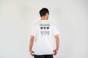 【7/8(wed)21:00販売開始】Three Heart S/S TEE (white)