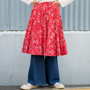 "Vintage ""Bandana"" Skirt"