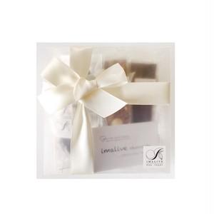 gift box (半透明箱 box リボン)
