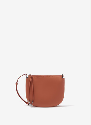 VACHETTA LEATHER SEMI-CIRCULAR BAG