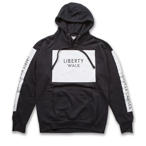 Liberty Walk × Crooks&Castles Hoodie Black
