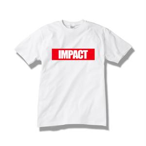【送料無料】Tシャツ IMPACT / white-red