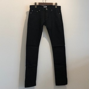 BLACK SLIM DENIM PANTS / GAVIAL