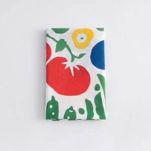 てぬぐい:彩り夏野菜