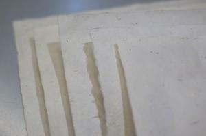 白石和紙 拾い草紙(カス紙) 1枚 W001