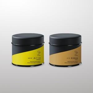 煎茶&ほうじ茶セット 30g 茶缶