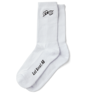 LastResort AB EYES SOCKS WHITE 39/42