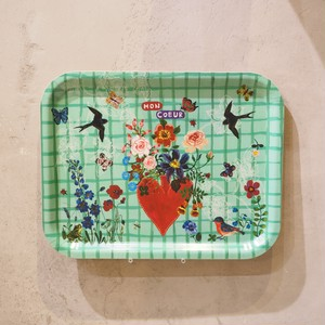 Nathalie Lete Mom Coeur Rect Tray
