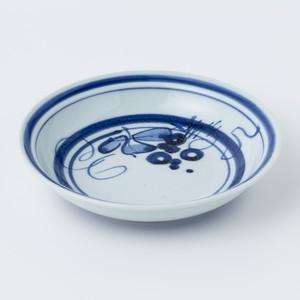 縁付深皿(ぶどう)