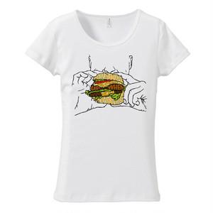 [レディースTシャツ] Diet is messed up when you eat this