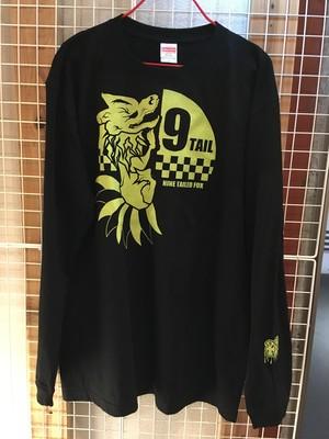 1126 九尾の狐ロンTシャツ【妖怪DJ高☆梵】&【DrunkMonsterKing】
