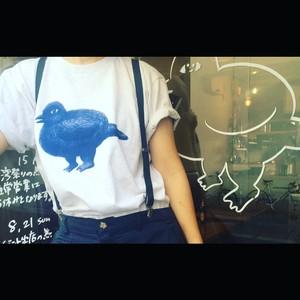 木曽浩太xSTOMACHACHE.xLARDERトリプルコラボ トリTシャツ