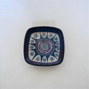 "【Vintage】Royal Copenhagen/ Tenera/Maarianne Johnson / Square Tray ""Size S(11cm)"""
