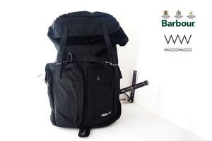 バブア―|Barbour|<WACCOWACCO|ワッコワッコ>コラボバッグパック|ブラック