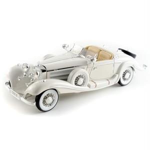 Maisto ミニカー 1:18 1934 メルセデス 500K ホワイト No.200-089