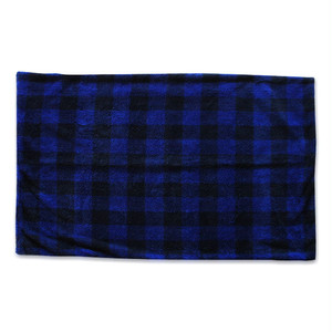 FLEECE &CHECK BLANKET