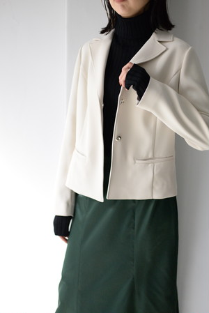 ROOM211 unique / Short Tailored Jacket  (ivory)