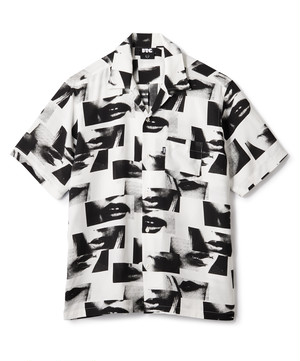 [ FTC ] LIPS RAYON SHIRT