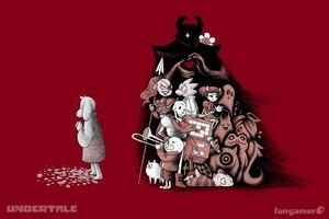 誰も倒さなくていいやさしい シャツ / UNDERTALE ( アンダーテイル )