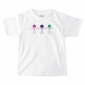 ディスタンスA Tシャツ(キッズサイズ)[白]