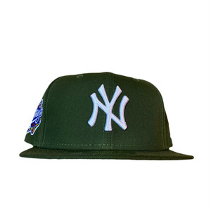 NEW ERA New York Yankees 1999 World Series 59Fifty Fitted / Olive×White (Gray Brim)
