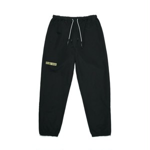 ZIP TRACK PANTS / BLACK