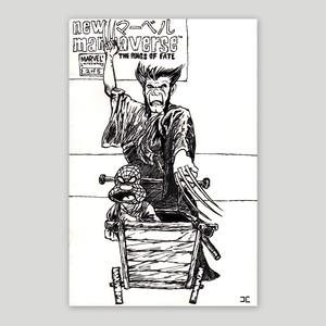 Jon Chandler/Original drawing 'NEW MARVEL'