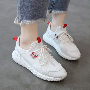 【sneakers】2018 summer new breathable white running sneakers