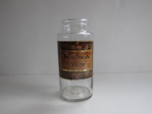 スフレ 薬瓶 ガラス容器 ラベルb