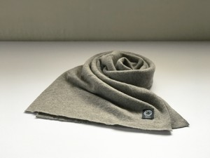 カシミヤスマフラー【 Pure cashmere muffler N/Brown 】