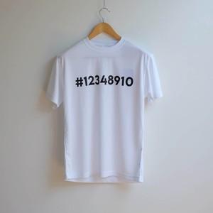 #12348910チャリTEE ポリ100%
