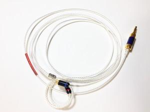 4本ツイスト3.5mmステレオミニーMMCX リケーブル(AM-4353-MMCX)