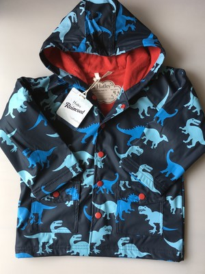 SALE Hatley 恐竜たち Boy'sレインコート  Lots Of Dinosaur Boy's Rain Coat