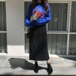 【即納】オルガンプリーツロングスカート U1463-SKU