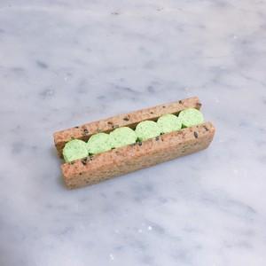 有機グリンピースのバターサンド