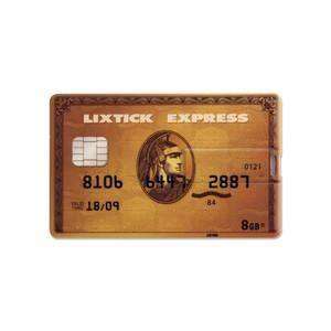 Lixtick USB CARD MEMORY ~Creditcard~