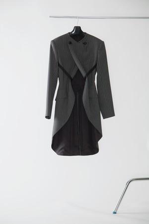【FW20 先行受注】brummell long tail jacket