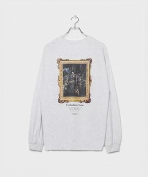 Forbidden Cord Longsleeve T-shirt [Ash]