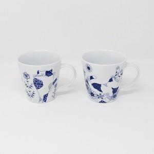 猫マグカップ(ロンロンとミュウの)ペア