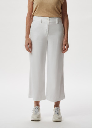 STRAIGHT LYOCELL TROUSERS