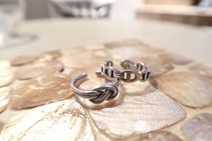 En haut ring ➕double twist ring セット