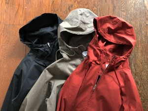 MANUAL ALPHABET  TWILL HOOD JACKET